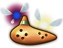 Hyrule Warriors Legends Ocarina Fairy Ocarina (Level 1 Ocarina)