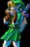 Link Playing Ocarina (Ocarina of Time)