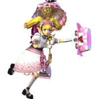 Hyrule Warriors Agitha Standard Outfit (Sweet Lolita - Twilight Princess DLC)