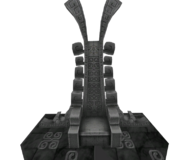 Hyrule Warriors Palace of Twilight Zant's Throne (Model Render)