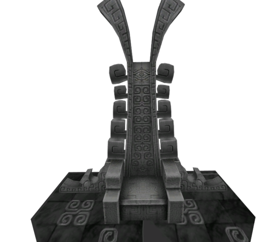 File:Hyrule Warriors Palace of Twilight Zant's Throne (Model Render).png