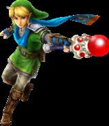 Link Magic Rod (Hyrule Warriors)