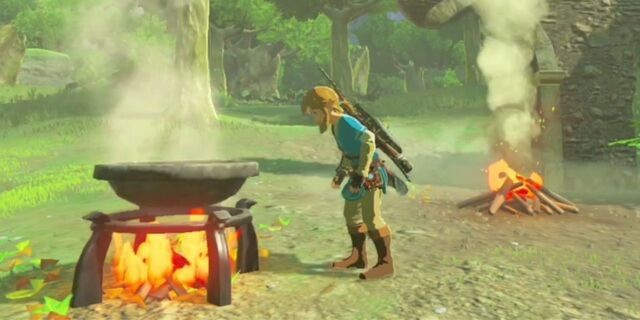 File:Camfire and cooking pot (Breath of the Wild).jpg