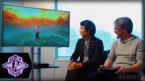 Legend of Zelda Wii U Gameplay and Star Fox Wii U Teaser - The Game Awards 2014