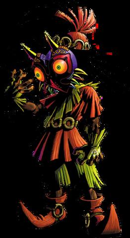 File:Skull Kid Artwork (Majora's Mask).png