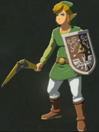 Breath of the Wild amiibo Rune Items (Hero of Wind Set) Hero of Wind Link (Menu Screen)