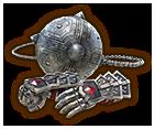 Hyrule Warriors Gauntlets Silver Gauntlets (Level 1 Gauntlets)