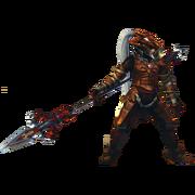 Hyrule Warriors Artwork Volga (Barba-Classic Volvagia Recolor - Master Quest DLC)