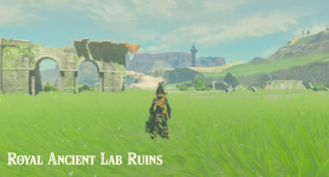 File:Breath of the Wild Hyrule Ridge Royal Ancient Lab Ruins (North Hyrule Plains).png