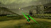 Link vs. Arwing