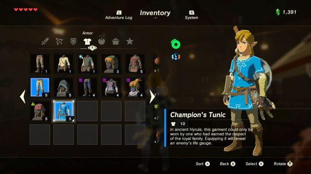 File:Link Wearing Champion's Tunic.jpg