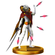 Super Smash Bros. for Wii U Demon Lord Ghirahim (Skyward Sword) Ghirahim (Trophy)