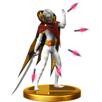 Super Smash Bros. for Wii U Demon Lord Ghirahim (Skyward Sword) Ghirahim (Trophy)