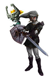 Dark link and midna copy