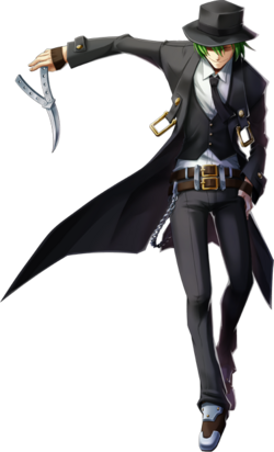 Hazama (Chronophantasma, Character Select Artwork)