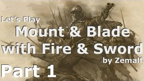 Mount & Blade with Fire & Sword - Part 1 - Introduction and Character Creation S01E01