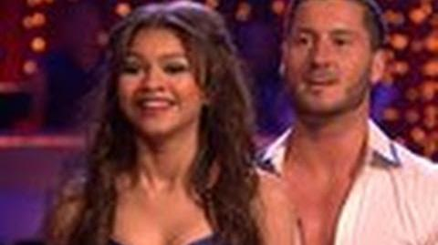Week One Zendaya and Val - Dancing With The Stars