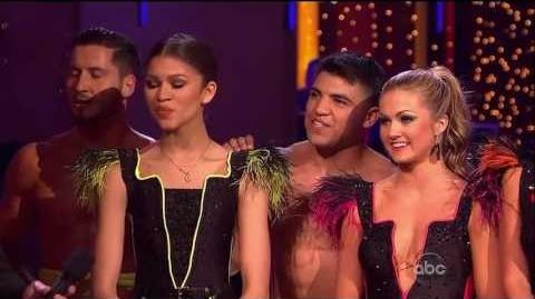 Team Paso Doble - Week 6-(Zendaya's Team)