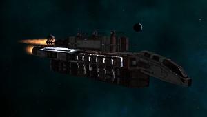 Z-Maelstrom Class Starship