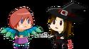 Mavis and Mala Halloween