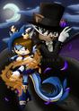 Sailor Dragon and Tuxedo Bat