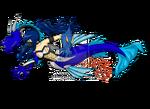 Beast fusion sea siren by zephyros phoenix-d4a5qiy