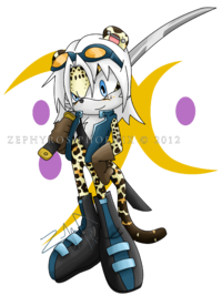 Snow the leopard