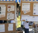 Stand d'nformation