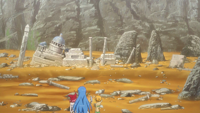 File:Girls overlooking the ruins.png