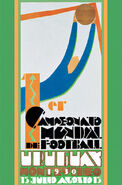 1930 Football World Cup poster