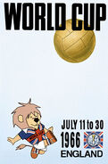 1966 Football World Cup poster