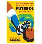 1950 Football World Cup logo