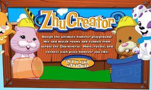 Zhucreator titlescreen