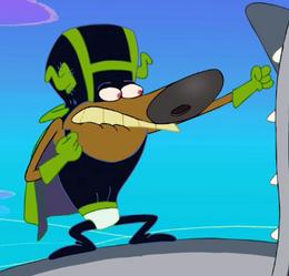 Zig & Sharko - Zig as Super Zig