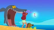 Zig & Sharko - Fancy Footwork Shocked Sharko