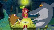 Zig & Sharko - Fancy Footwork Dinner Scene