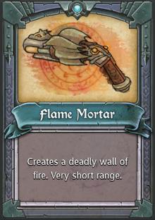 Flame Mortar