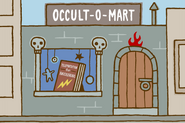 Occult-o-mart in Zapped