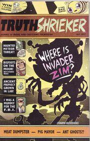 TruthShrieker (Issue-0) Cover