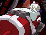 Santa helper trapped
