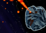 Shriveling Earth