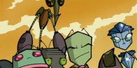 Invader Skoodge and Zim's Relationship