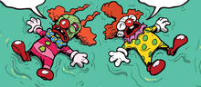 Terrible clown aftermath