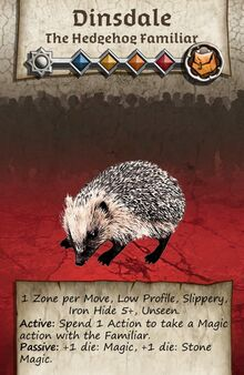 Zombicide Black Plage - Animal Companion - Hedgehog Famillar