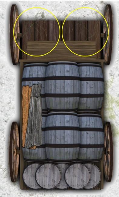 Black Plague - Token - Brewery Cart