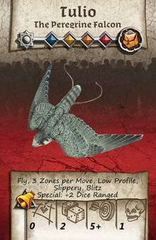 Zombicide Black Plage - Animal Companion - Peregrine Falcon