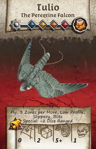 File:Zombicide Black Plage - Animal Companion - Peregrine Falcon.jpg