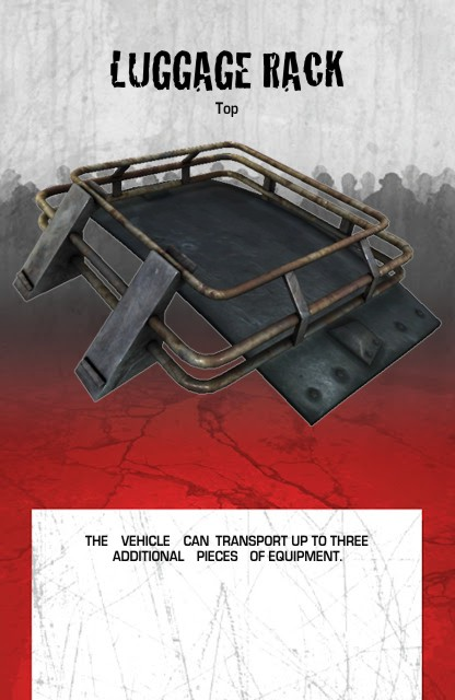 Vehicle Equipment Top Luggage Rack