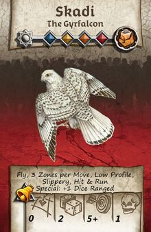 Zombicide Black Plage - Animal Companion - Gyrfalcon