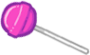 Juicy Purple Candy Lollipop